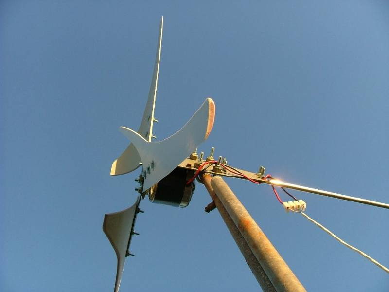 How To Build A Small Wind Turbine Using Old Alternators