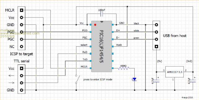 pickit 3 circuit diagram thebackshed com forum  thebackshed com forum